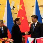 ドゥテルテ大統領、東シナ海問題触れなかったけど中国訪問は成功?アメリカから離脱??