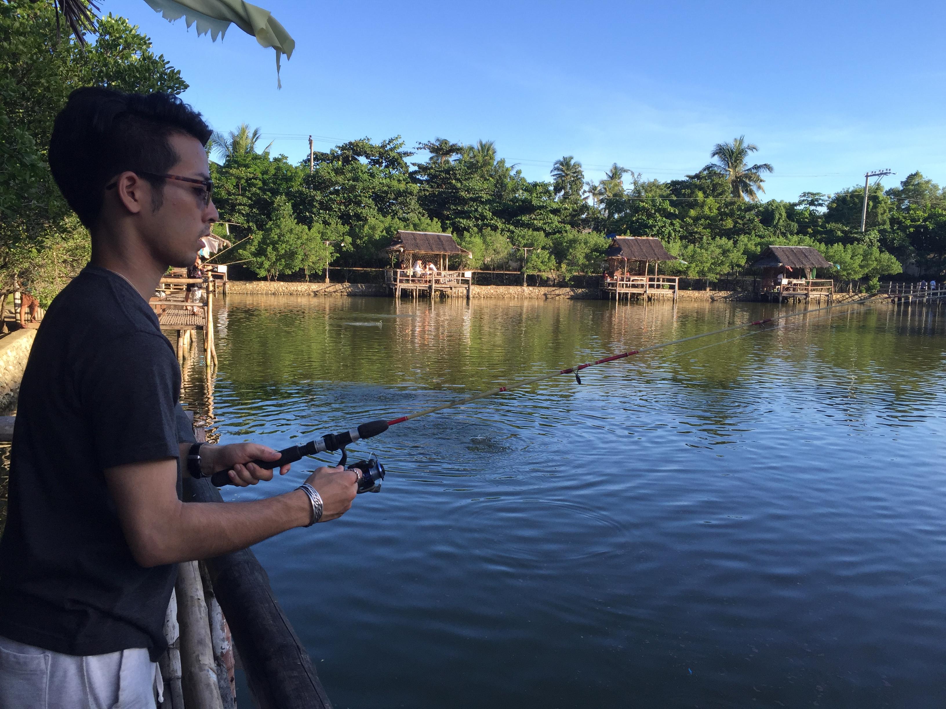 パパキッズの釣り