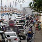 12月11日(日曜日)マクタン島でバイクレース。道路閉鎖で大渋滞の予測
