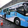 セブ市内に新たな交通機関・超巨大ハイブリッドバス