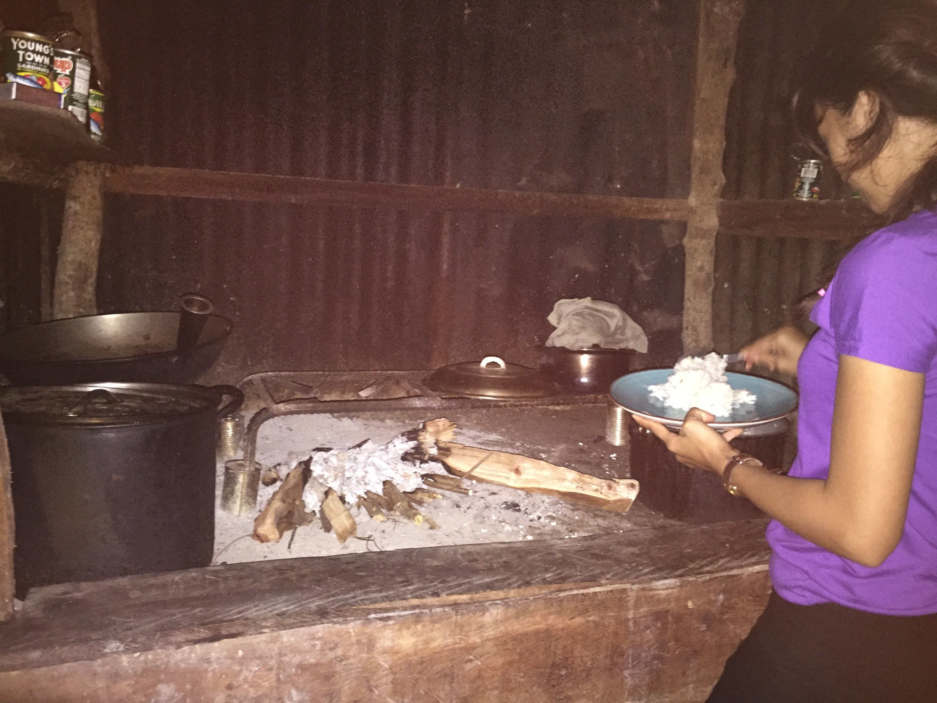 貧乏なフィリピン人のキッチン