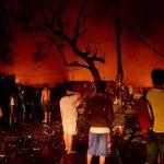 元旦早々セブ島で大火事発生!! 被害450世帯