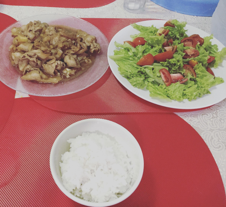 セブの日本人大学生の自炊飯