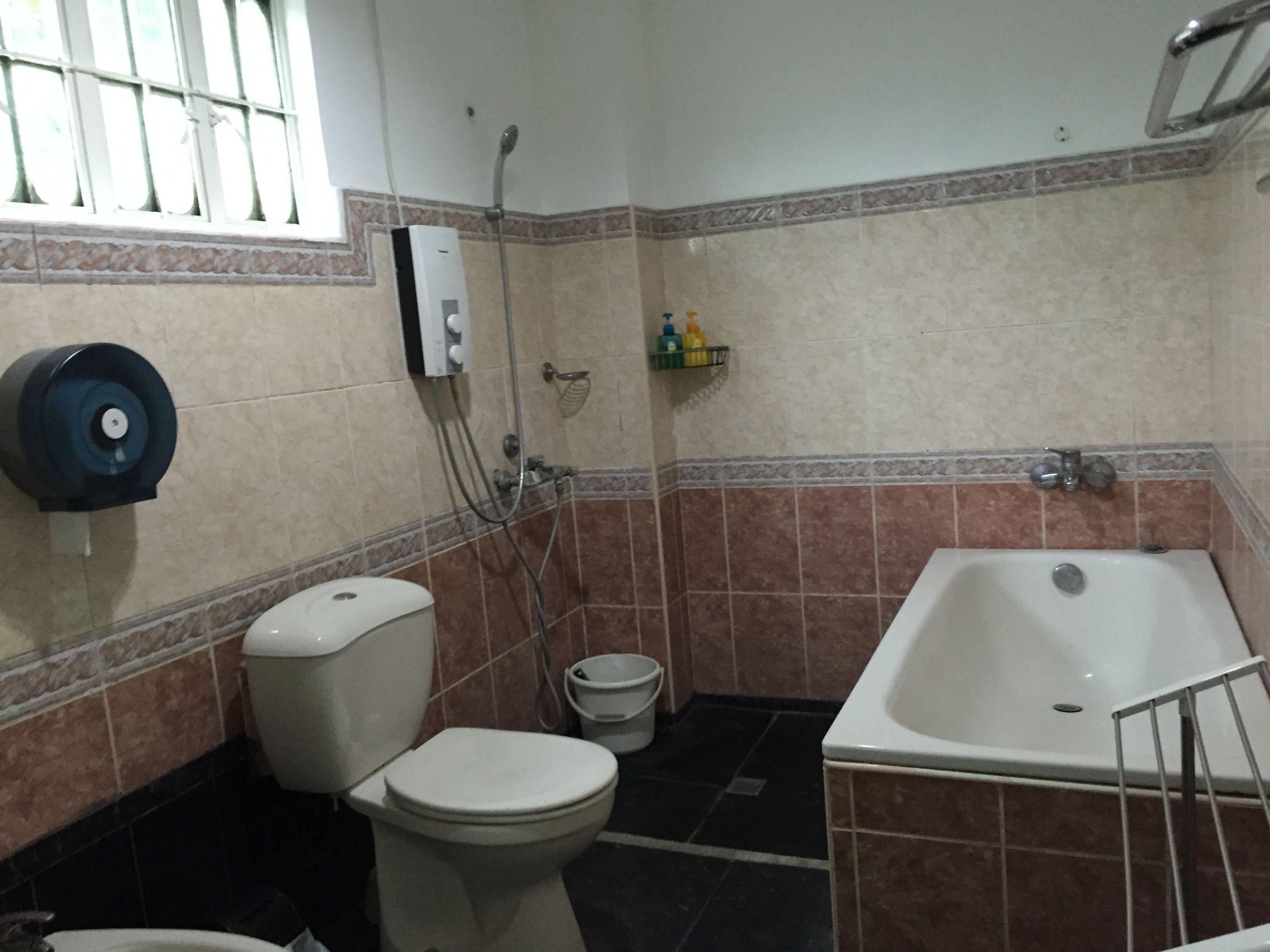 ゲストハウスのどかのバスルーム