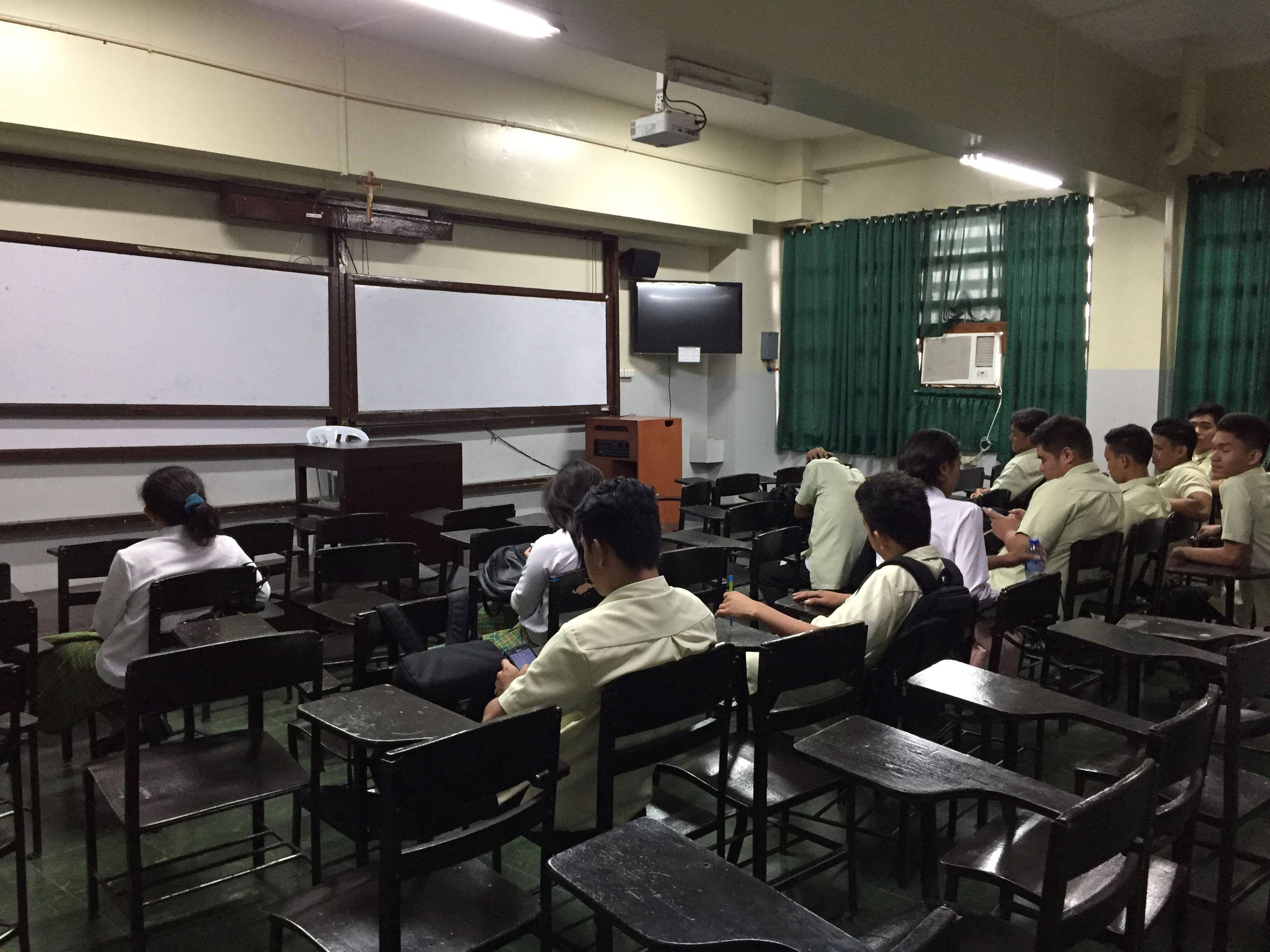 サンホセ大学の教室