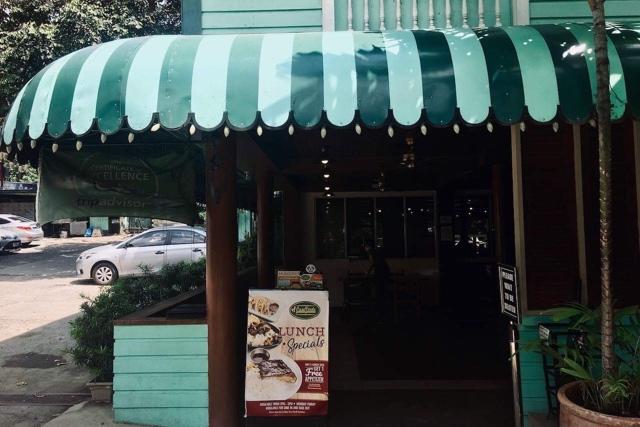Casa Verdeの店外