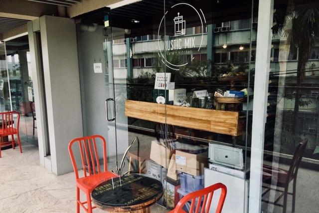 Rustic Mix Cafeの店外