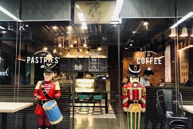 Bicester Cafeの店外