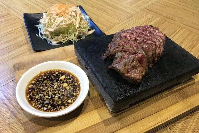 オキナワヒート(OKINAWA HEAT)のステーキ