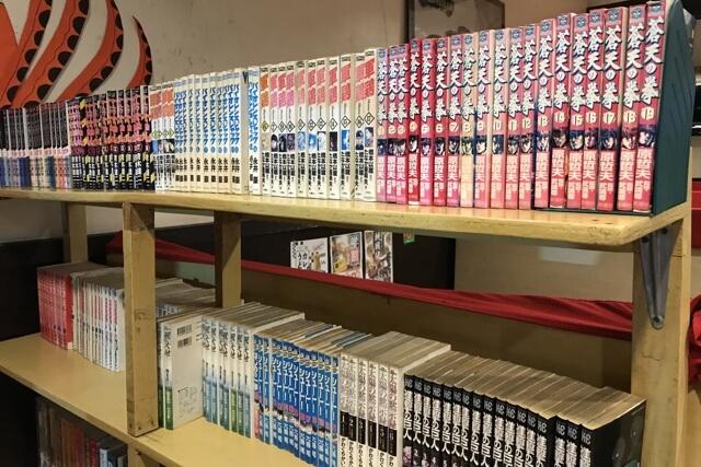 IZAKAYA GOKUの店内