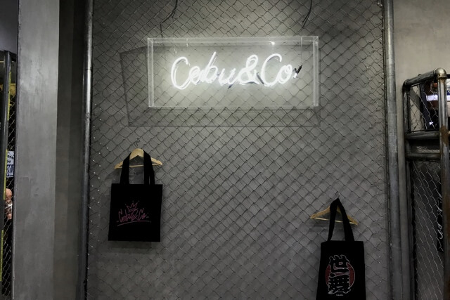 Cebu&Co.の看板